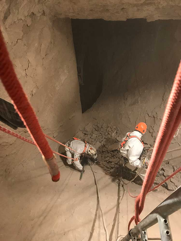Industrial repairs Ropes Access Services Alberta